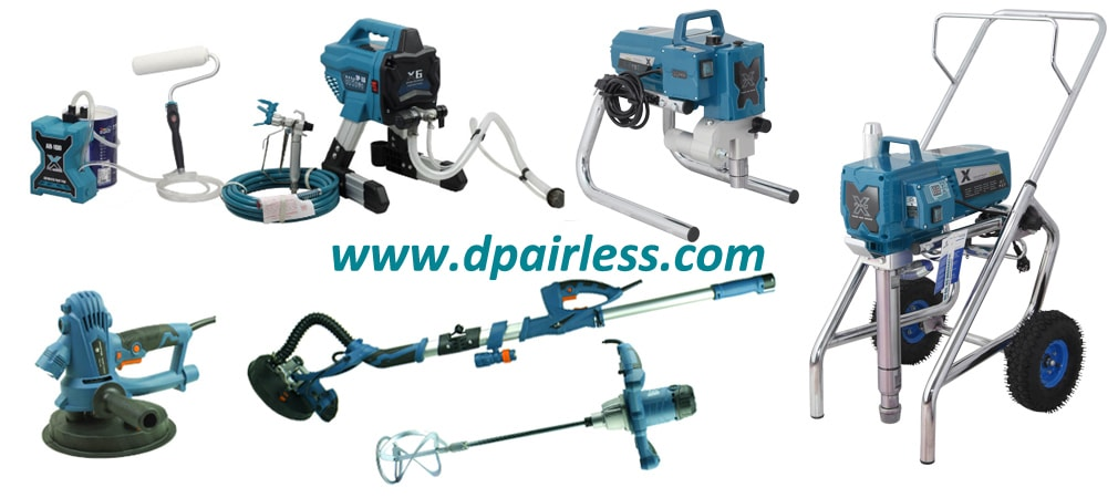 Popular DP Airless Paint Sprayers, Drywall Sanders & Mixers with High Quality
