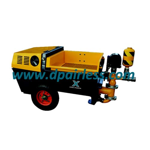 DP-UB30P Single Cylinder/DP-UB80P Dual Cylinder Cement Mortar Sprayer with Piston Pump