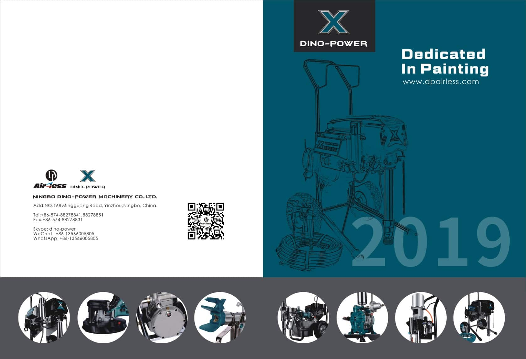 DP AIRLESS PAINT SPRAYER Front page