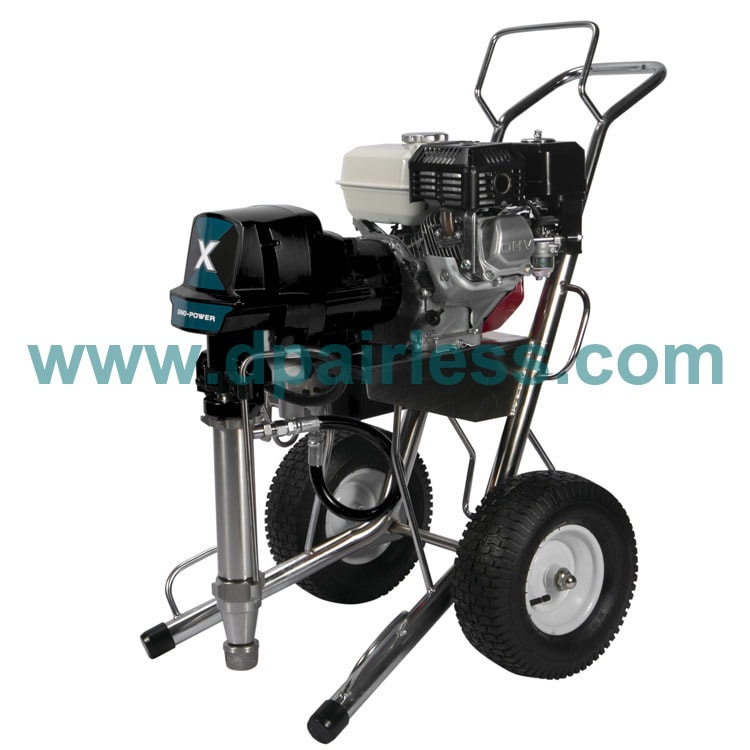 X80GL Gas Airless Paint Sprayer for waterproof with Honda engine