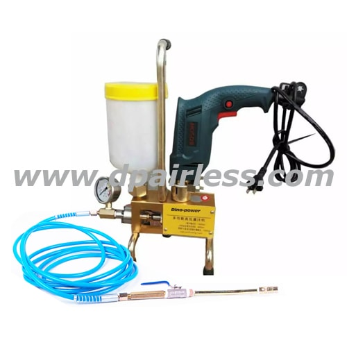 DP-I600/DP-I800 High Pressure Injection Grounting Pump
