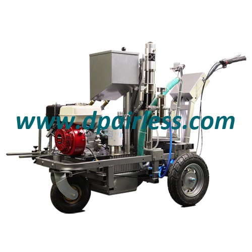 DP-LC880 Hydraulic Airless Line Striper with Reflective Bead Dispensing System