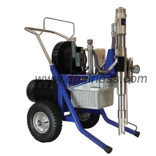 DP-9600EL   Electric belt driven hydraulic airless paint sprayer with compact frame