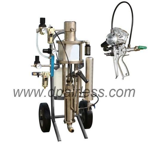 DP-16A fiberglass Chop gun sprayer for resin hardner