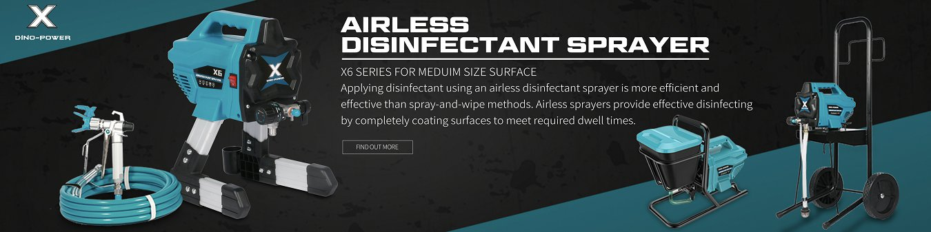 X6 AIRLESS DISINFECTANT SPRAYER