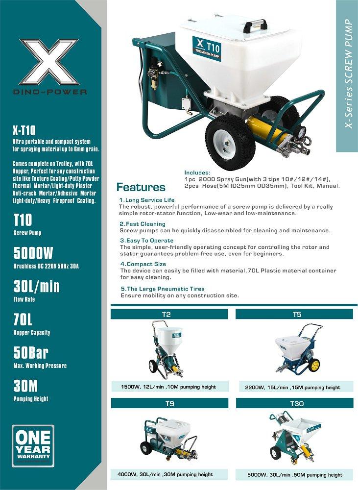 DP-T10 Drywall Texture Paint Sprayer