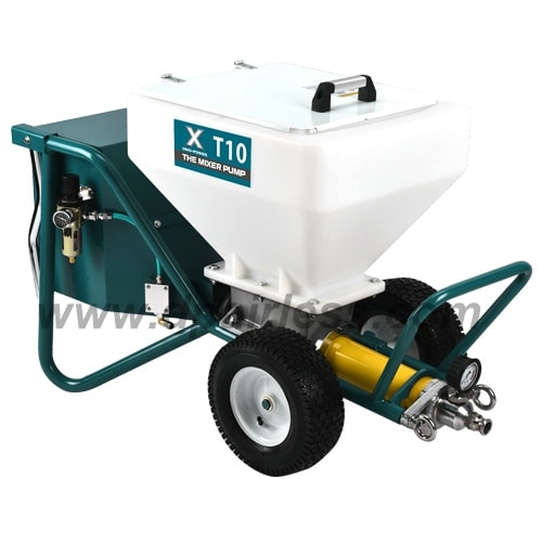DP-T10 Gypsum plaster Sprayer, cement plaster spraying machine
