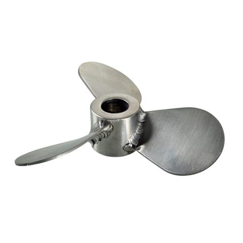 DP-SS120 pneumatic mixer 304/316 stainless steel Blade 120mm