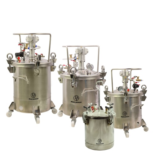 Fully Stainless Steel Pressure Tanks