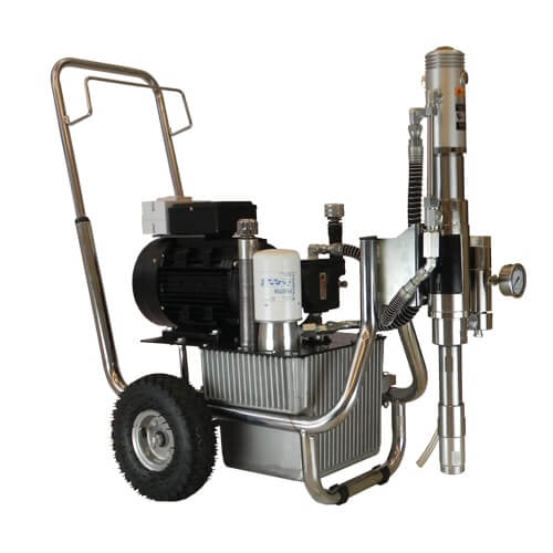 DP-9900EH 3-Phase Electric Hydraulic Airless Sprayer 500Bar
