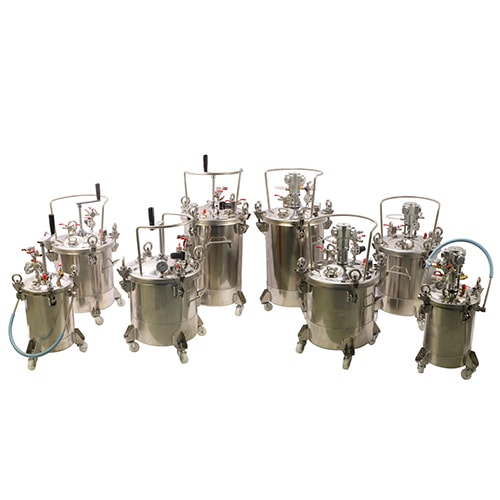 DP Fully Stainless Steel Pressure Tanks