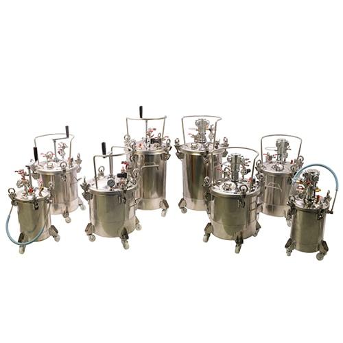 DP Fully Stainless Steel Pressure Tanks