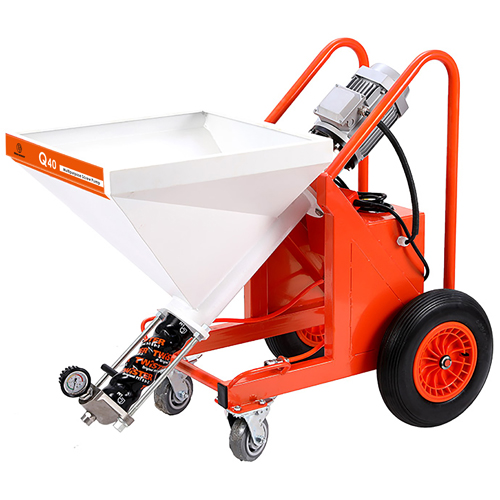 Q40 Wall Putty Texture Sprayer with Screw Pump