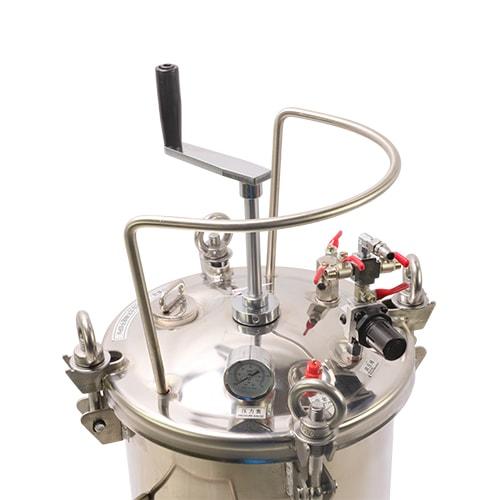 hand mix tank