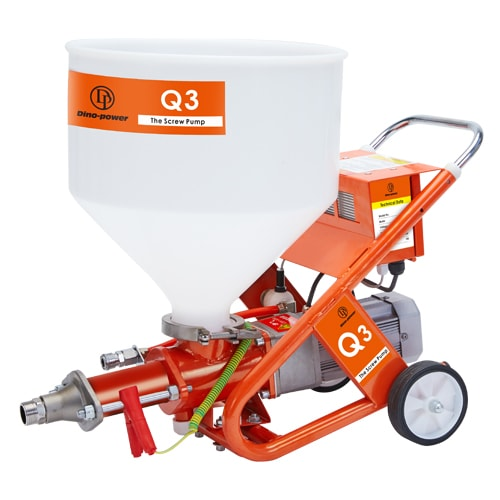 Q3 Putty Plaster Sprayer With Screw Pump