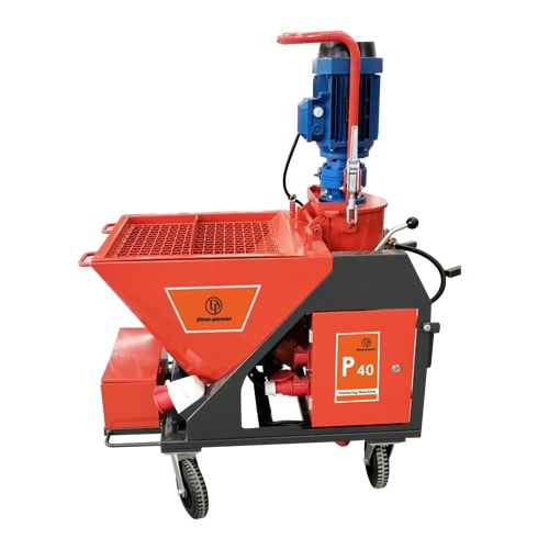 P40 Cement and Plaster Spraying Mixer Pump