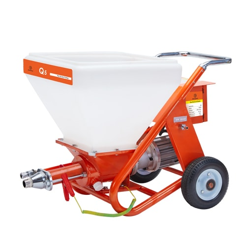 Q5 High-performance Texture/Putty/Cement Plaster Spray Machine.