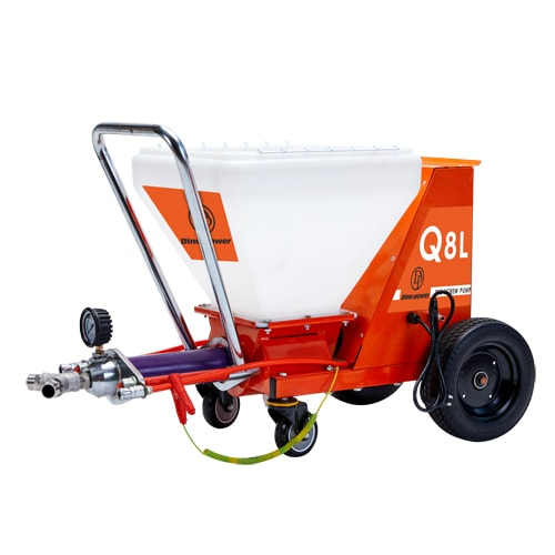 DP-Q8L Powerful Screw Pump Texture Mortar Sprayer