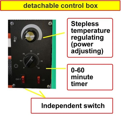 DP Shortwave Infrared Paint Dryers with Temperature Regulator
