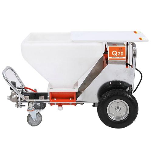 Q20 Texture Putty Plaster Spray Machine